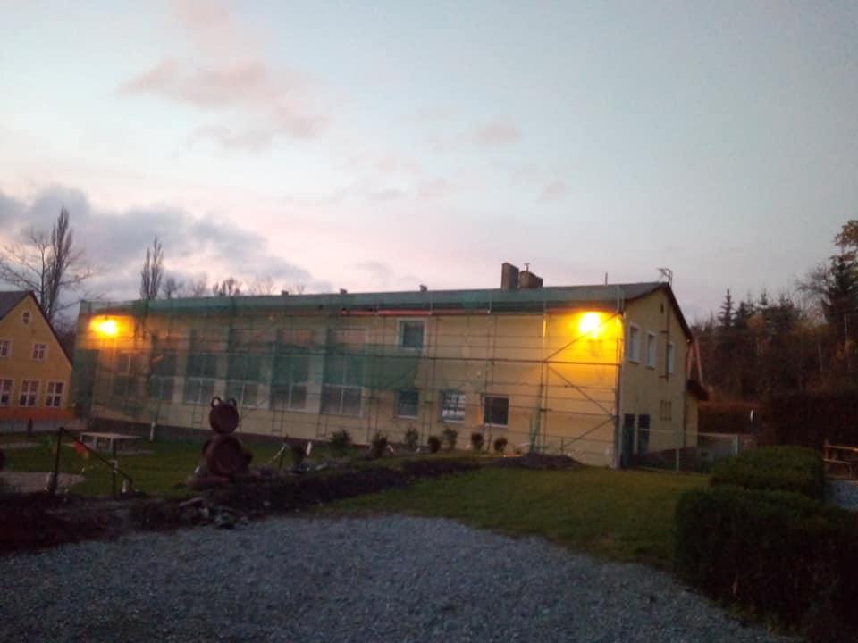 Sala gimnastyczna w Dzikowcu. Zdj. Sołectwo Dzikowiec