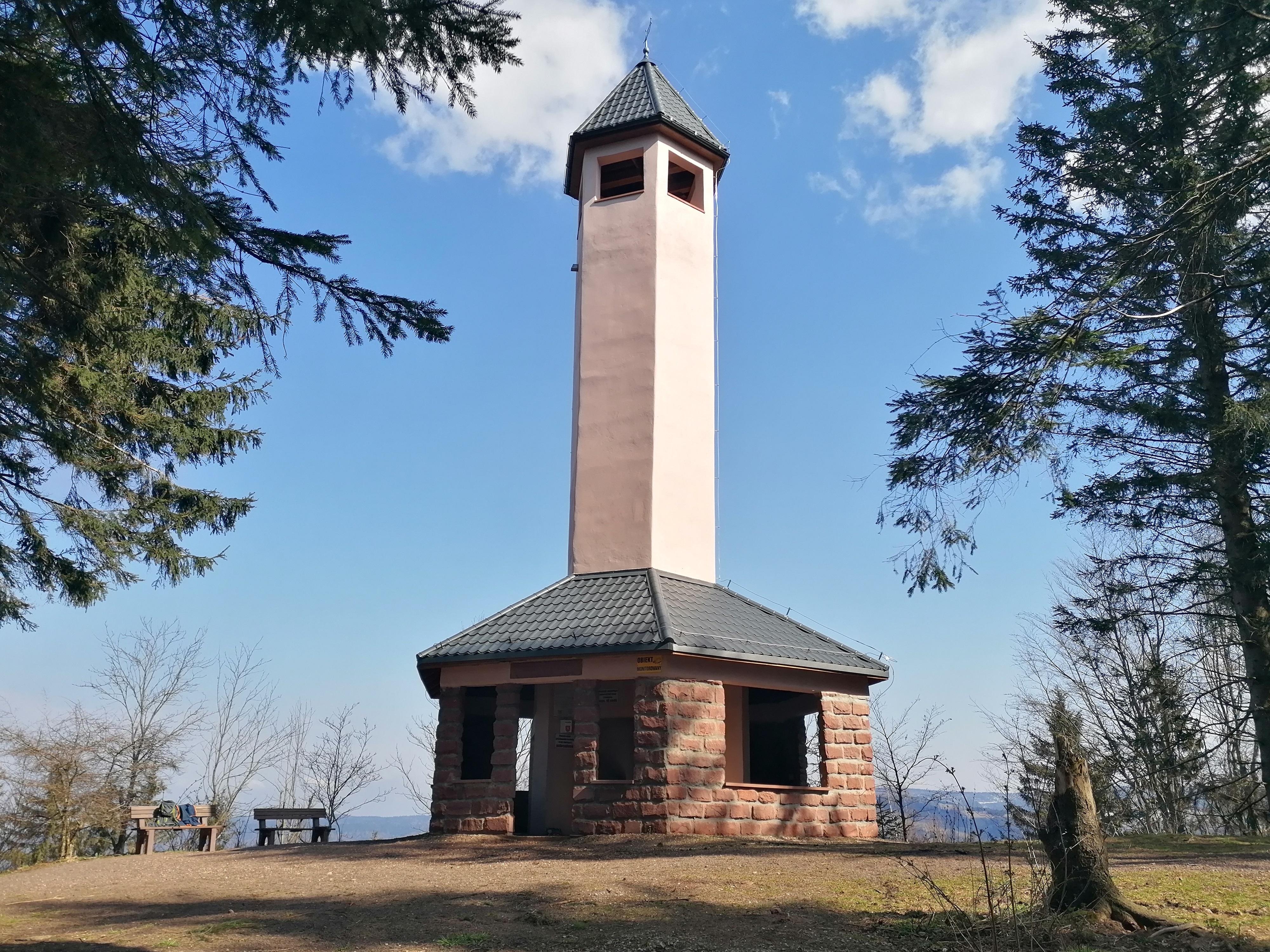 Wieża na Włodzickiej Górze Fot. Barbara Adamska